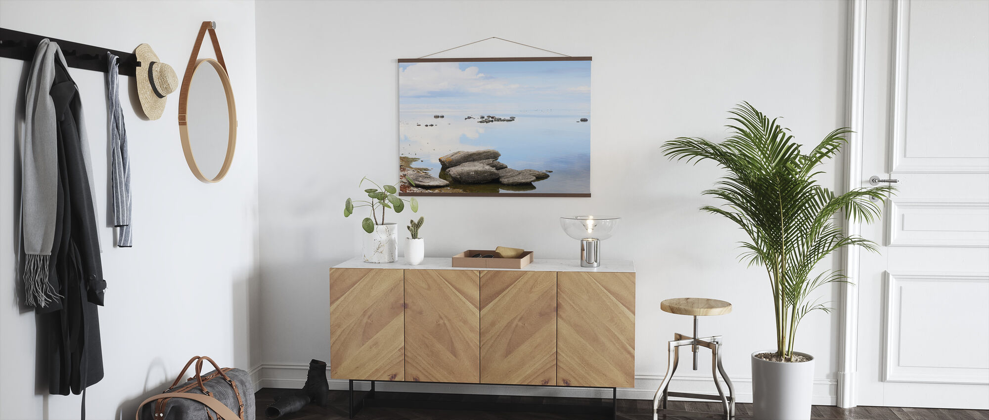 Sunny day at the coast of Gotland - Poster - Hallway