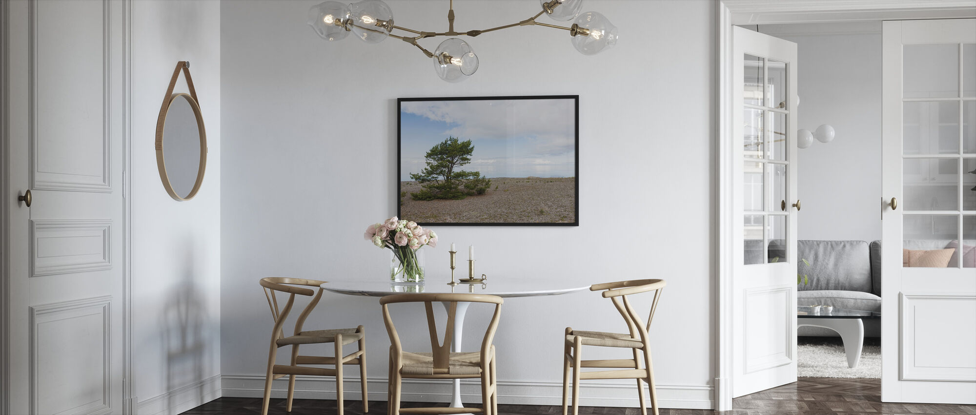 Pine at the Sea - Framed print - Kitchen