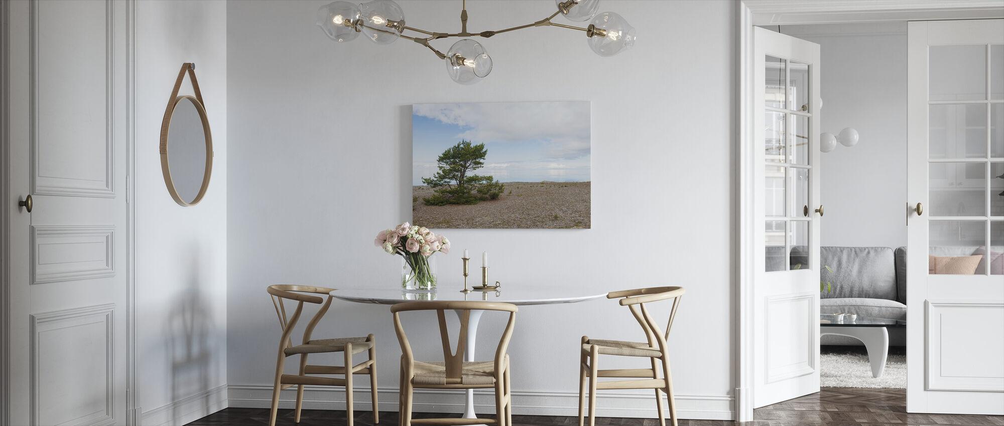Pine at the Sea - Canvas print - Kitchen