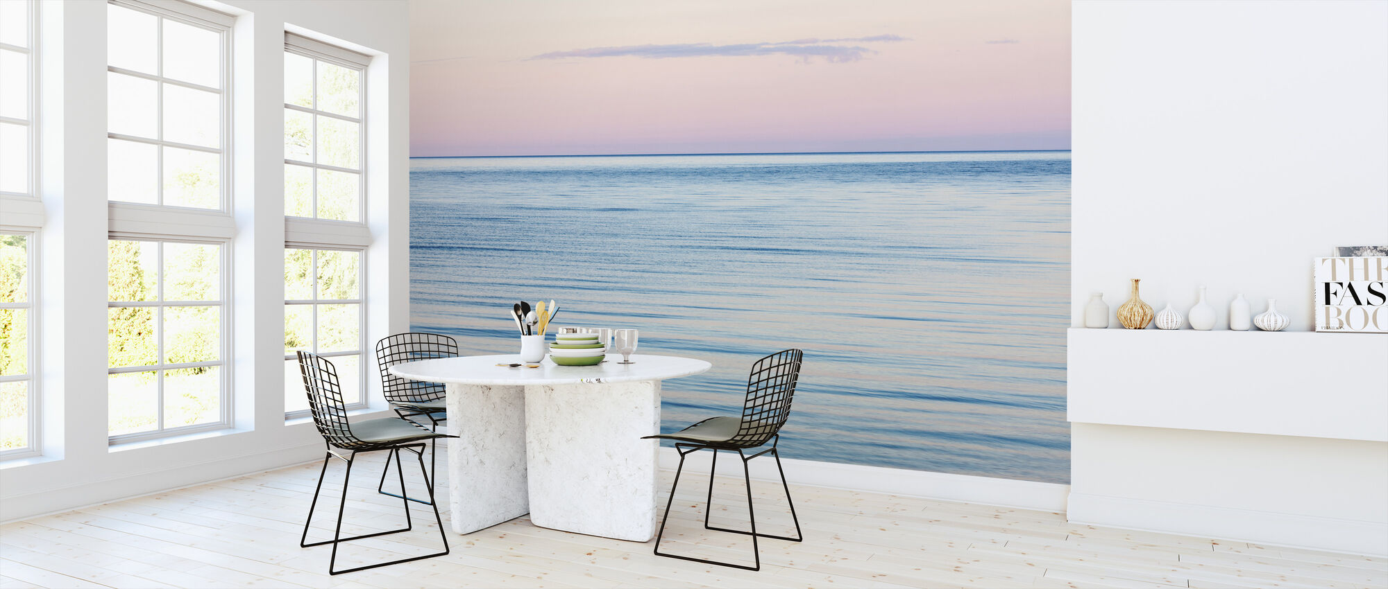 Rosa og blå drøm - Tapet - Kjøkken