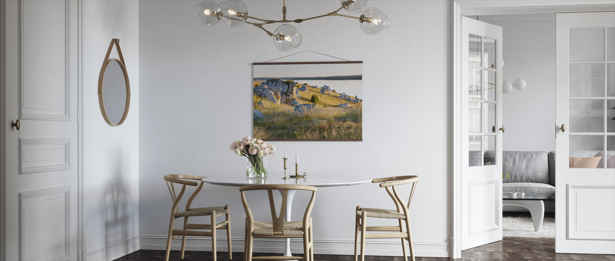 Nice Lights over the Rocks - Poster - Kitchen