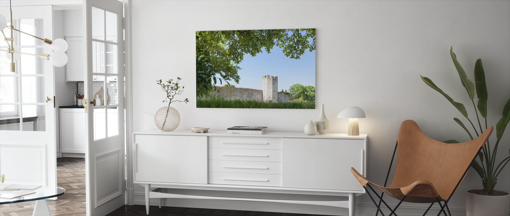 Visby Wall - Canvas print - Living Room