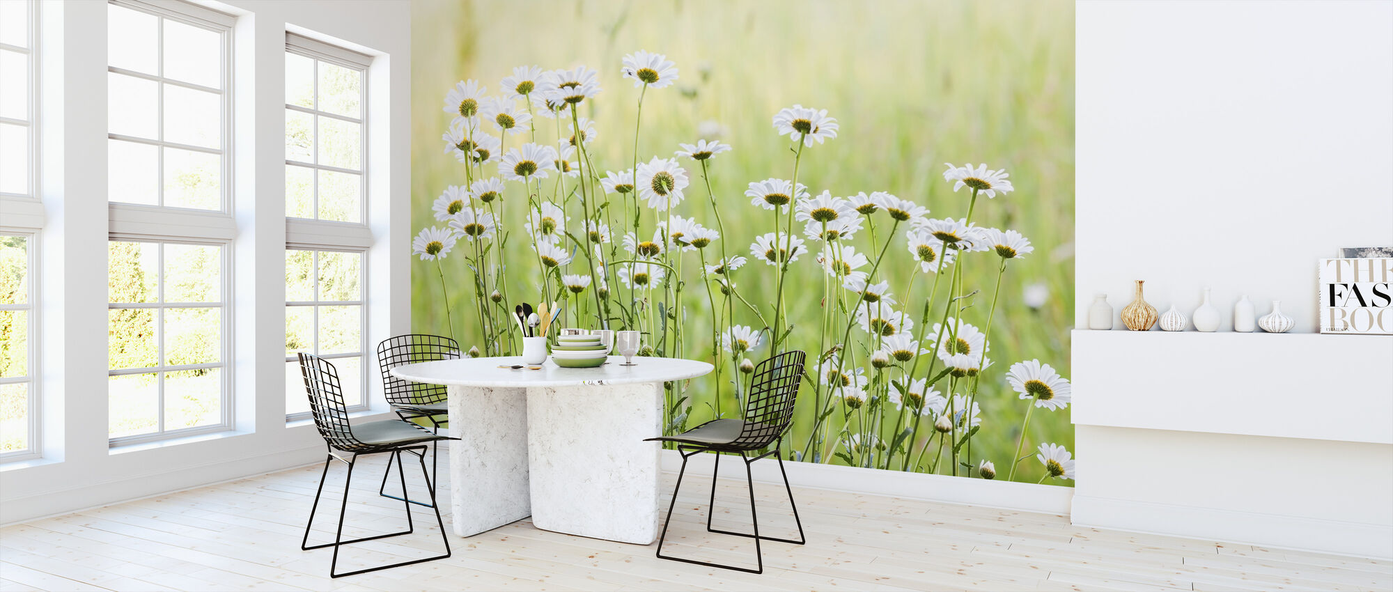 Daisies - Wallpaper - Kitchen