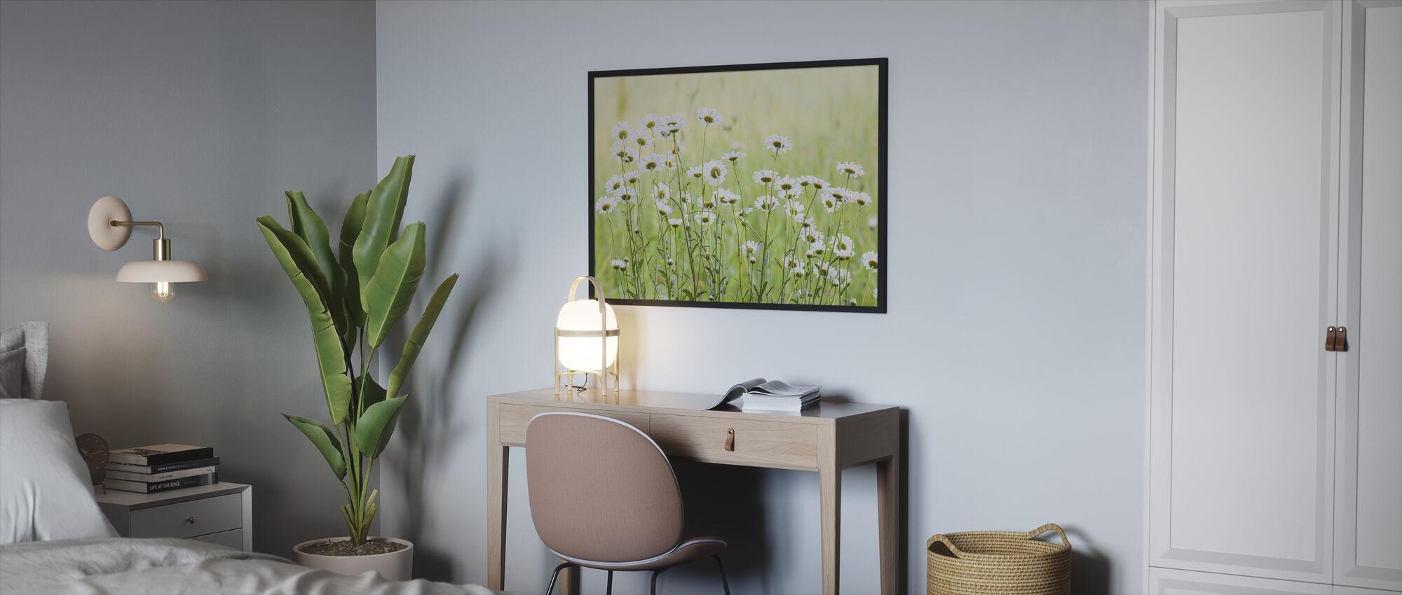Daisies - Framed print - Bedroom