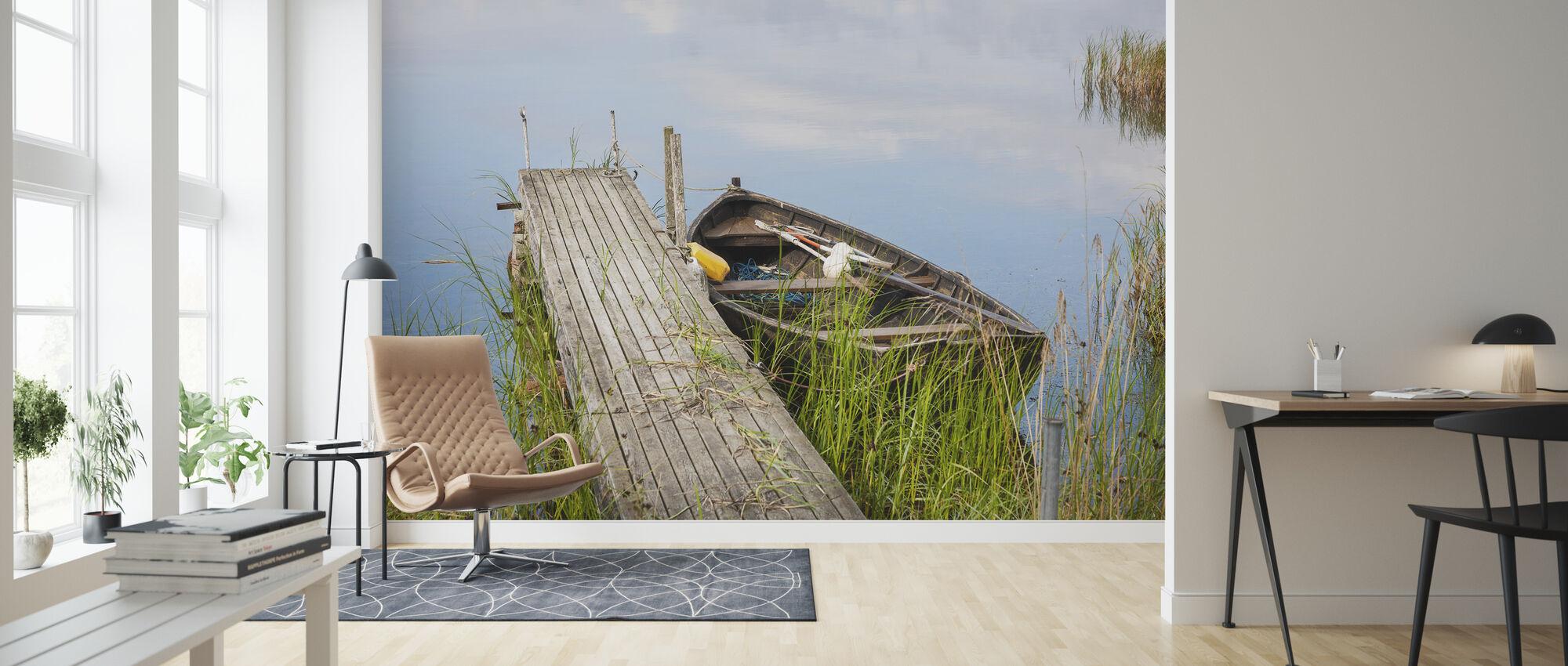 Summer - Wallpaper - Living Room