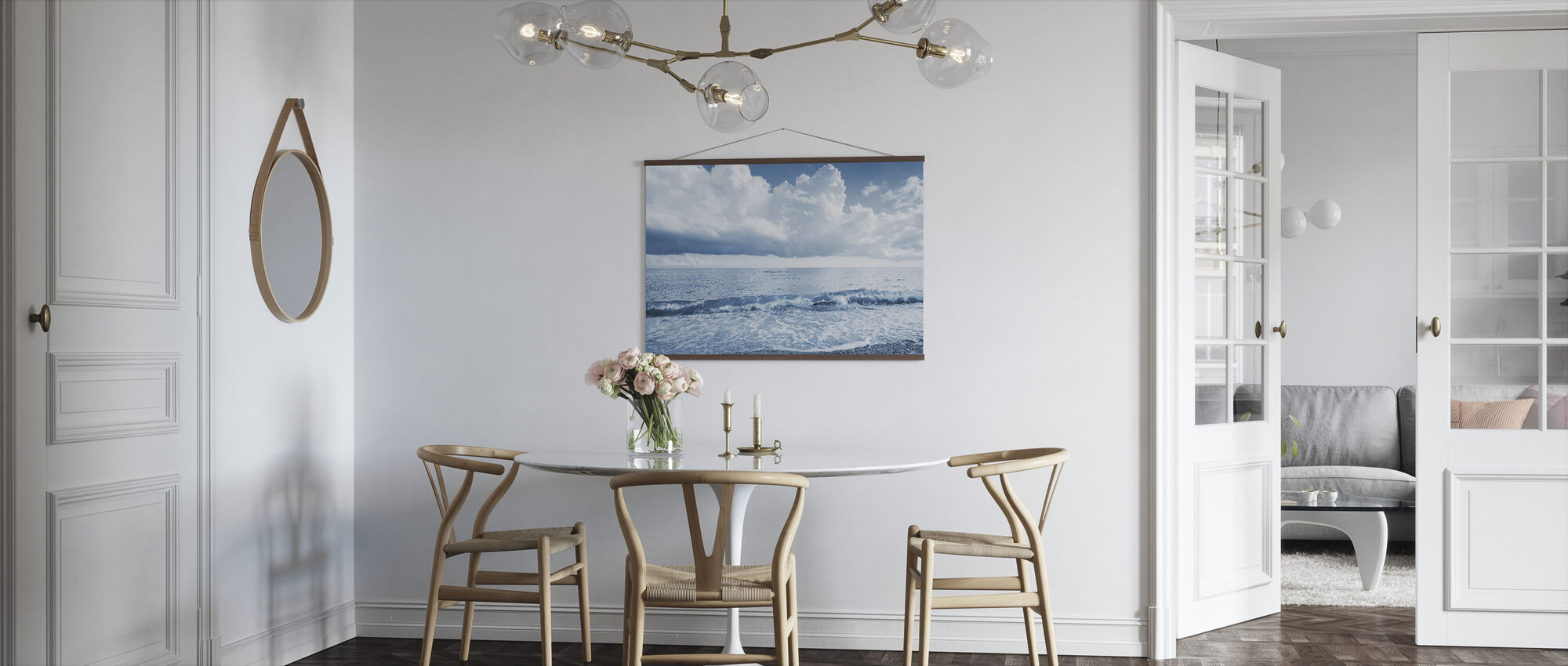 Sea and Dramatic Clouds - Poster - Kitchen