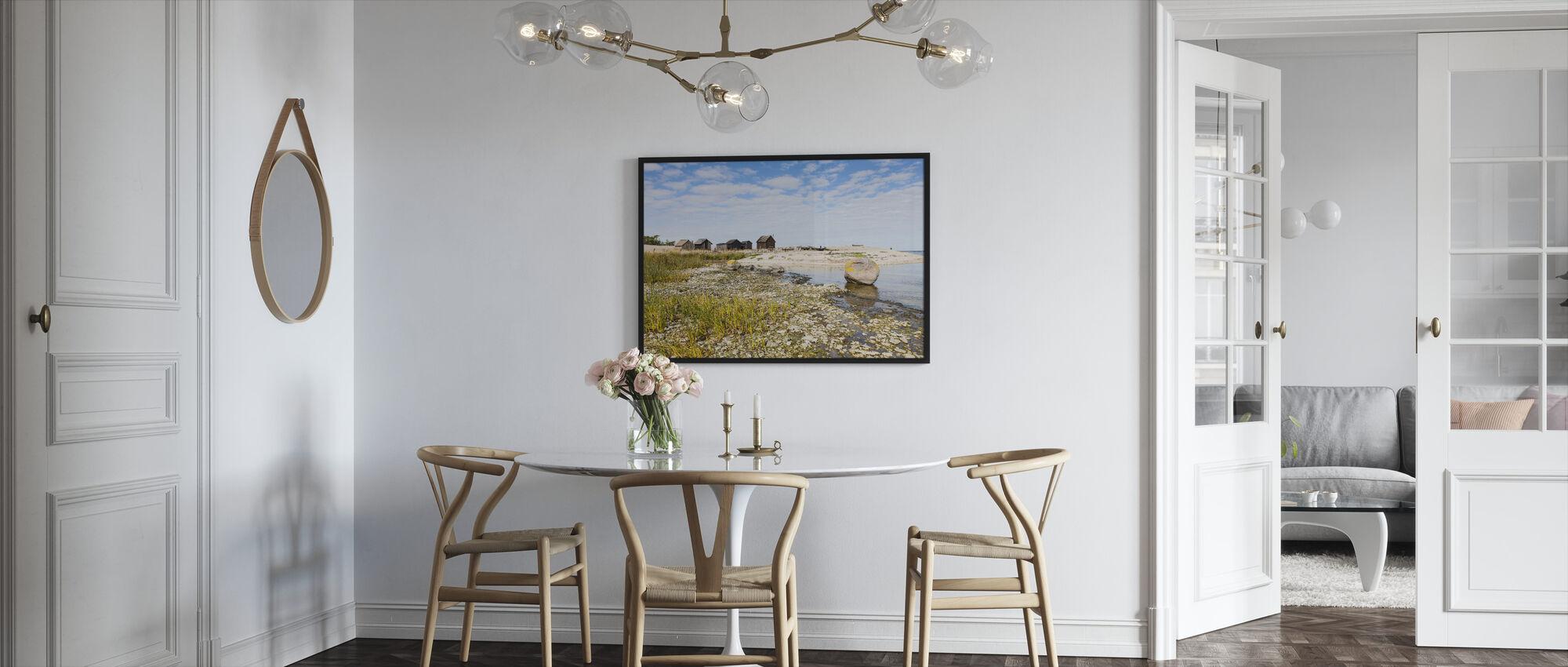 Fishing Village - Framed print - Kitchen
