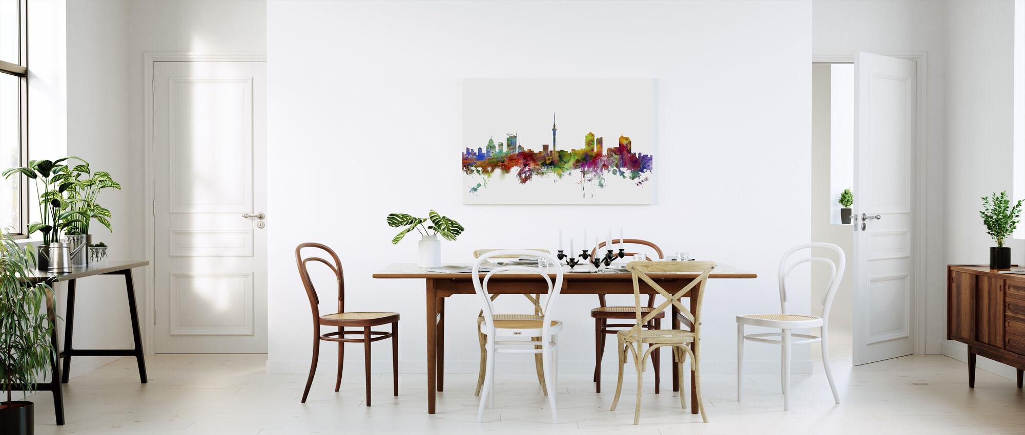 Auckland Skyline - Canvas print - Keuken