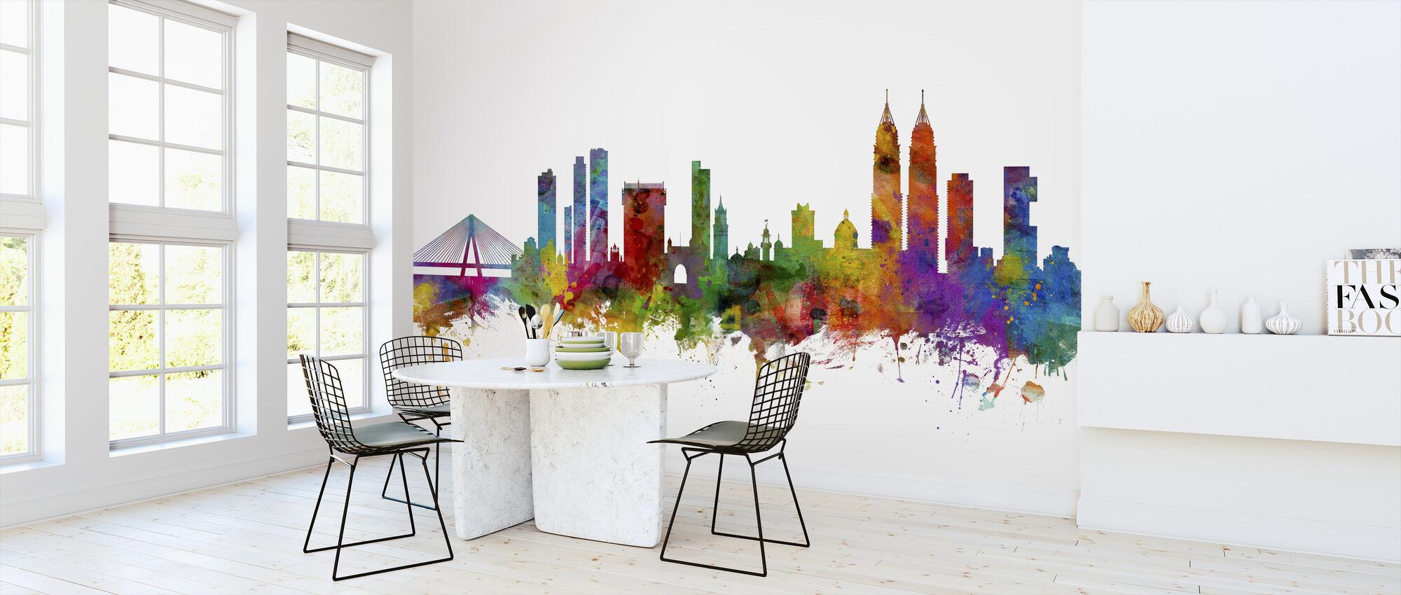 Mumbai (Bombay) Skyline - Wallpaper - Kitchen