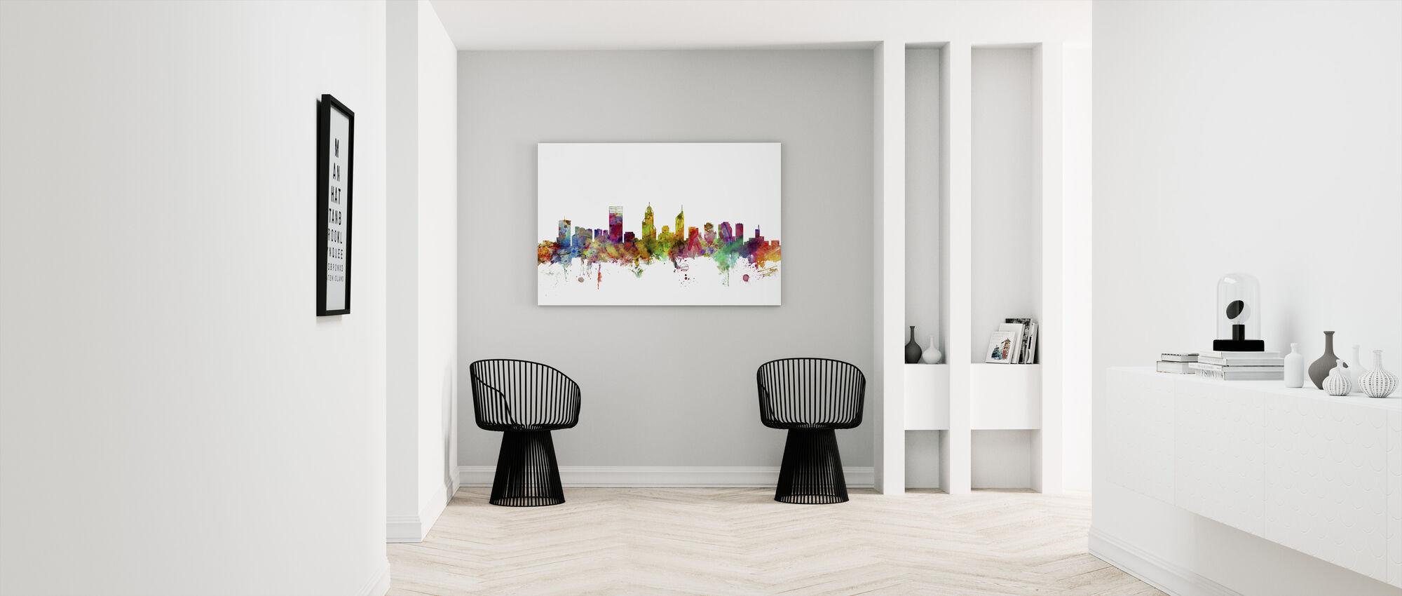 Perth Skyline - Canvas print - Gang