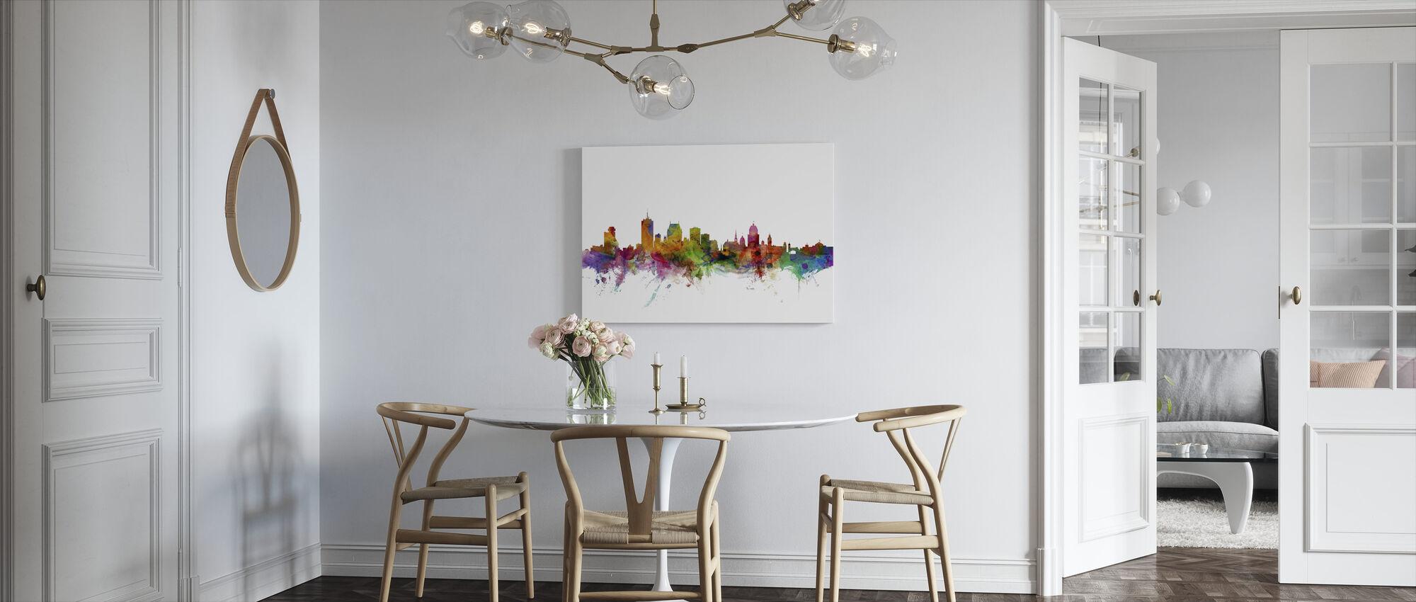Quebec Skyline - Canvas print - Kitchen