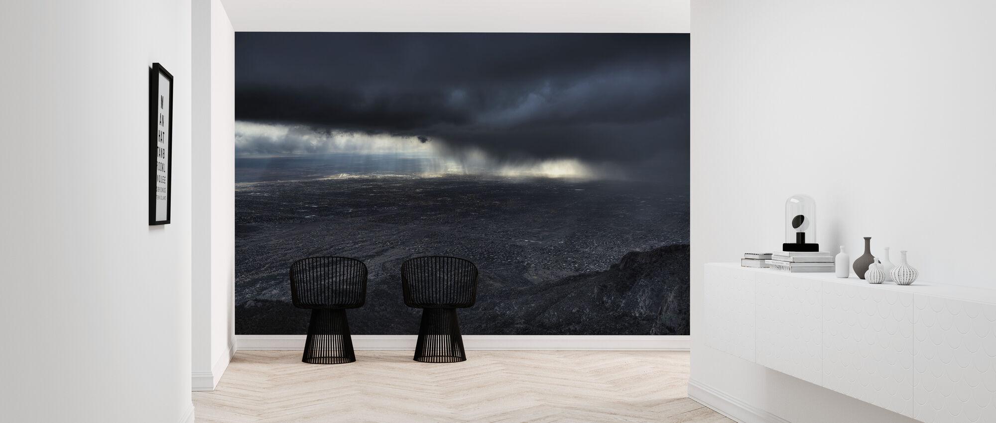 Storm over Alburquerque - Wallpaper - Hallway