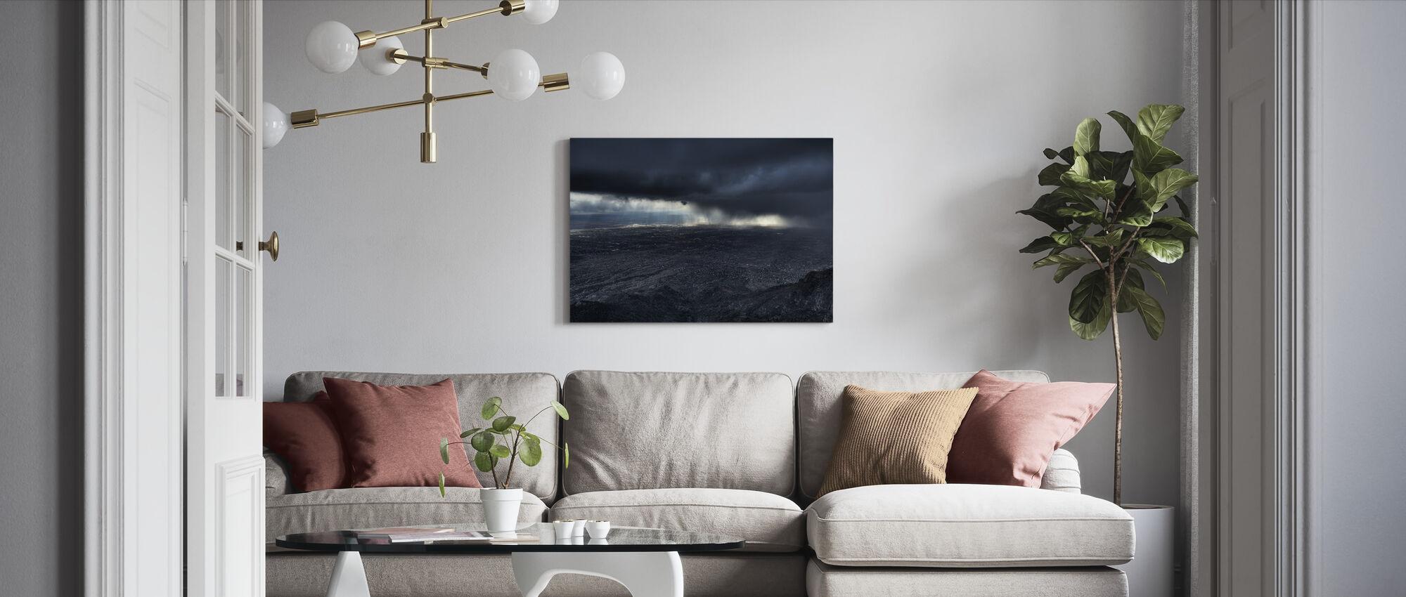 Storm over Alburquerque - Canvas print - Living Room