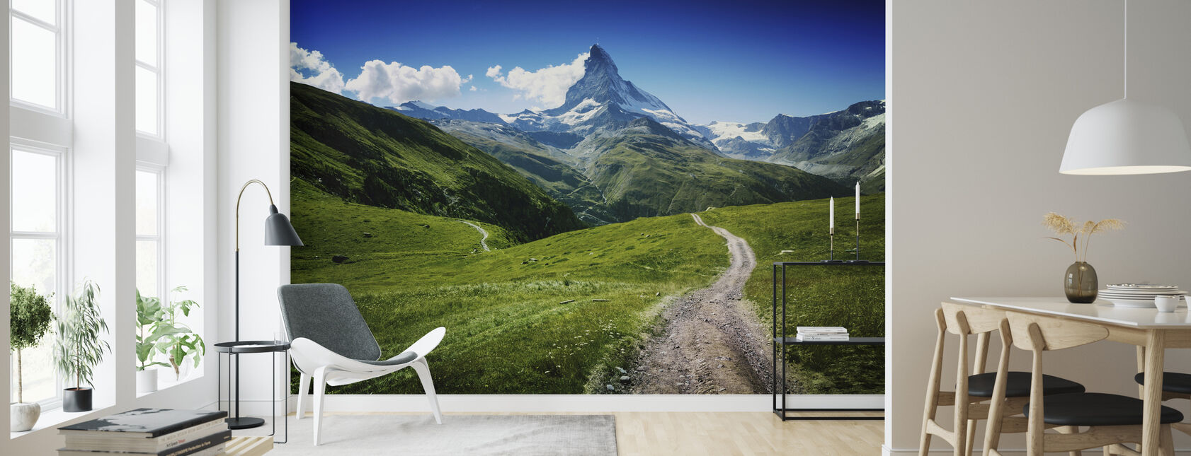 Matterhorn II - Wallpaper - Living Room