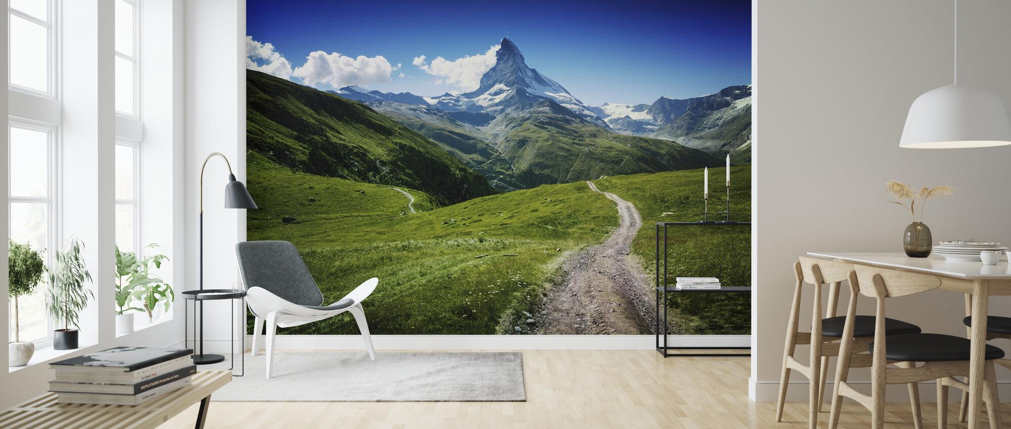 Matterhorn II - Wallpaper - Living Room