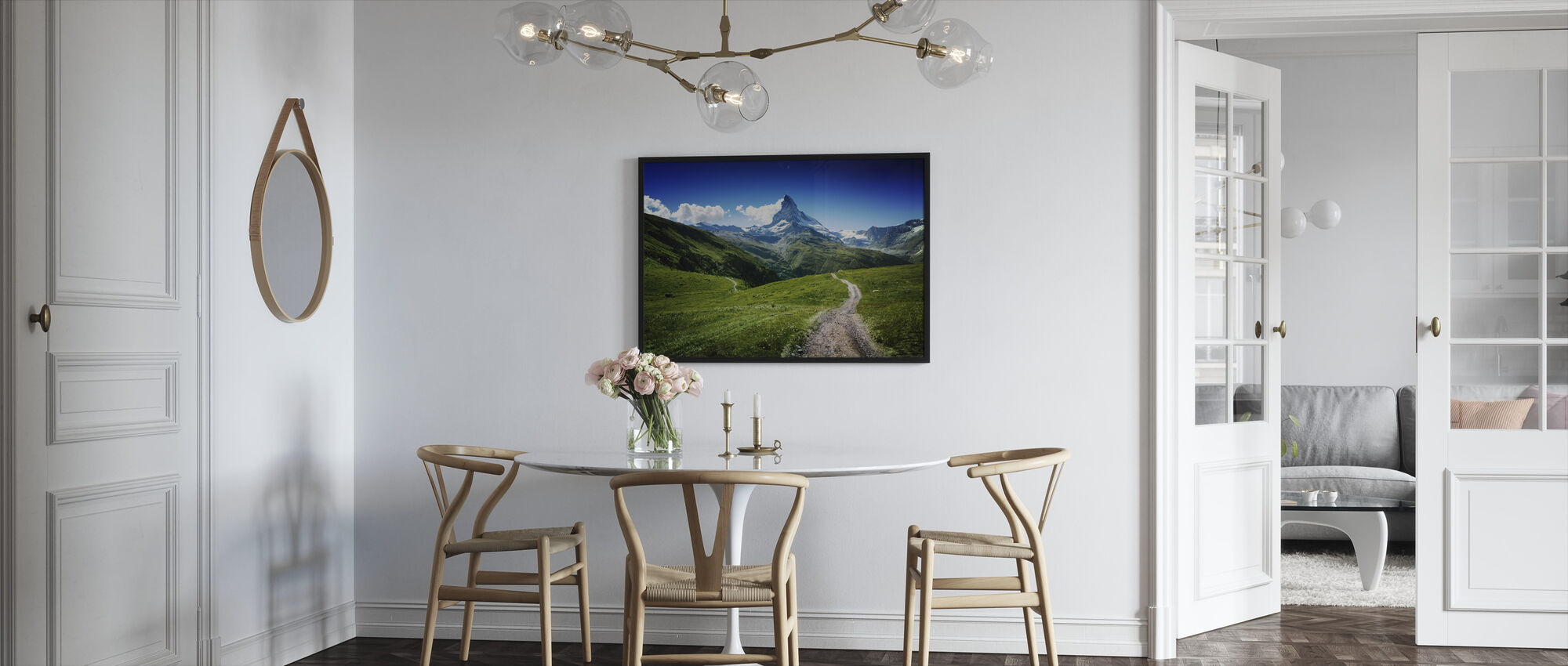 Matterhorn II - Innrammet bilde - Kjøkken