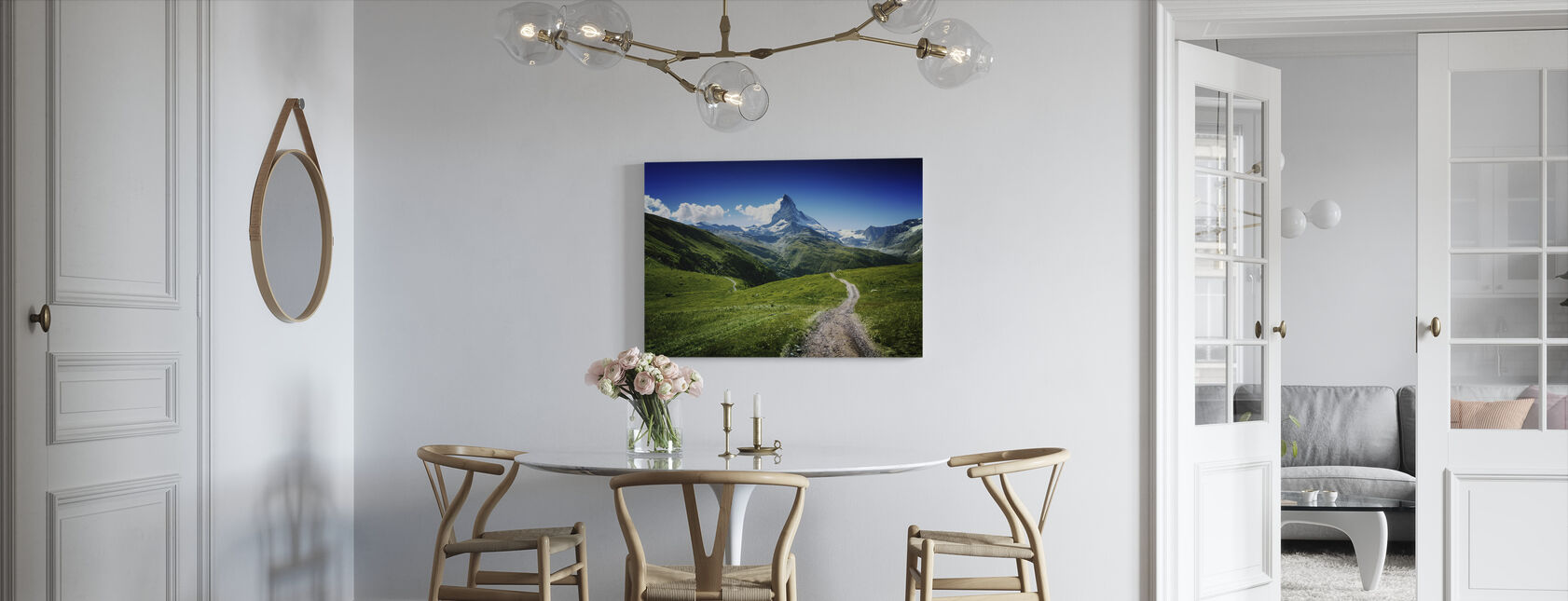 Matterhorn II - Canvas print - Kitchen