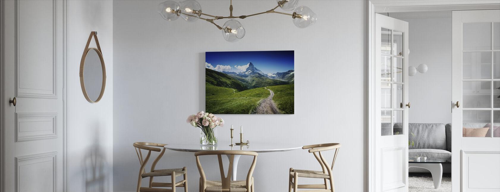 Matterhorn II - Lerretsbilde - Kjøkken