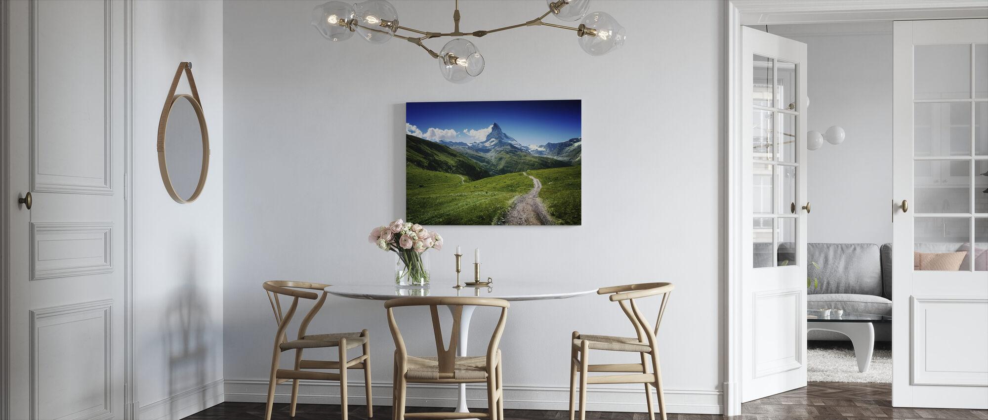 Matterhorn II - Canvas print - Keuken
