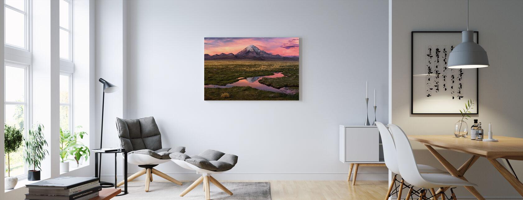 Sajama - Canvas print - Woonkamer