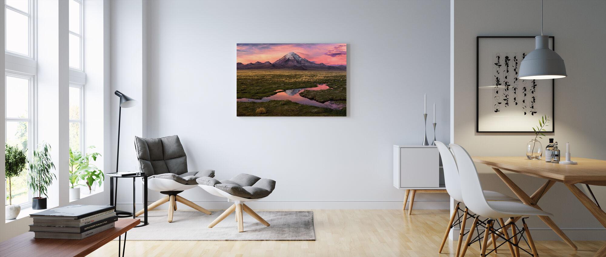 Sajama - Canvas print - Living Room