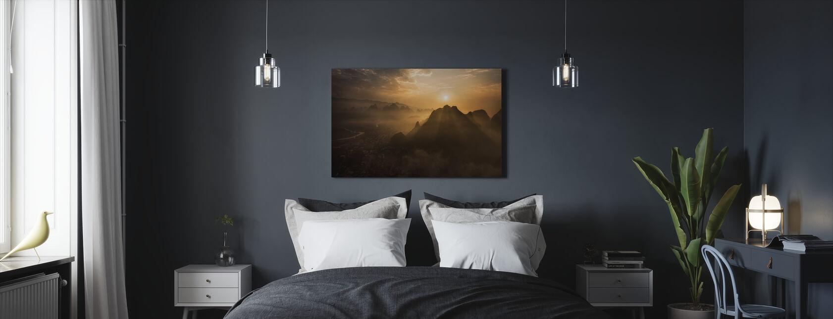 Misty Sunrise - Canvas print - Bedroom
