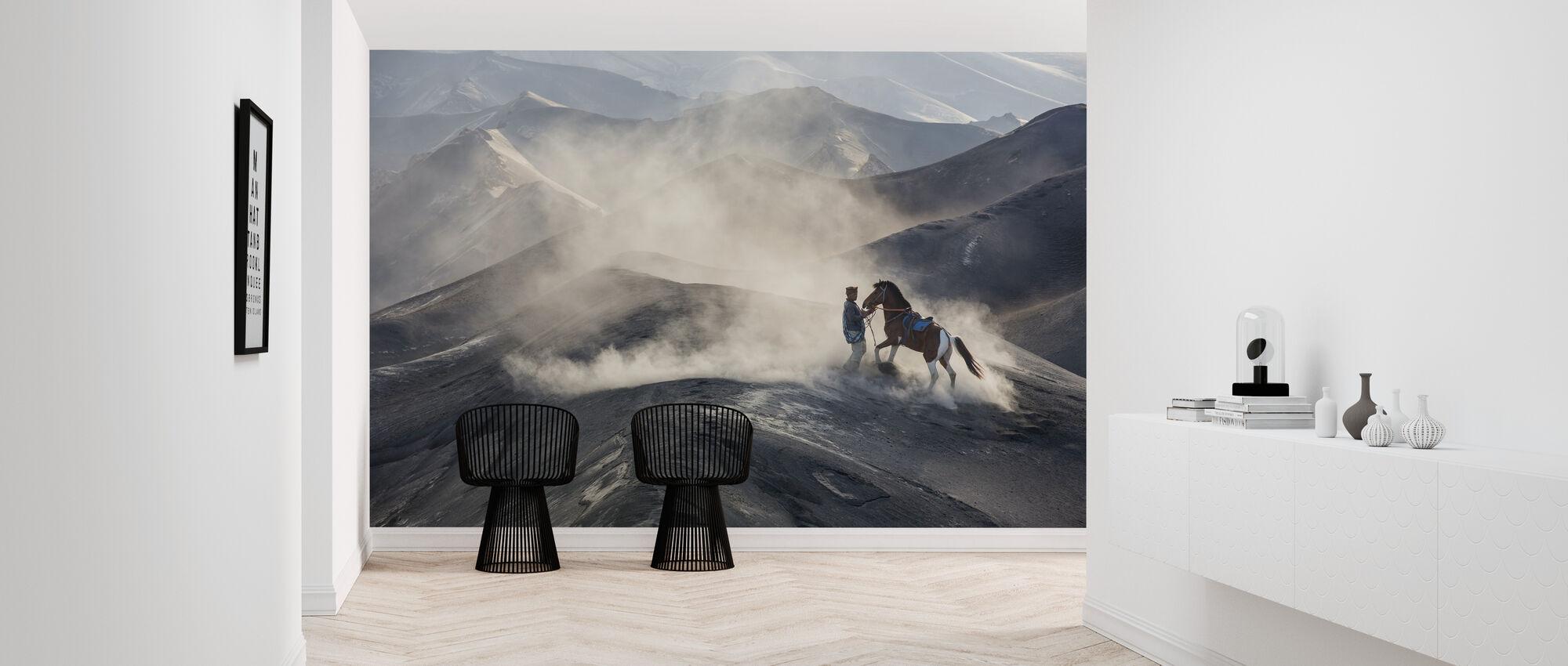 The Horseman - Wallpaper - Hallway