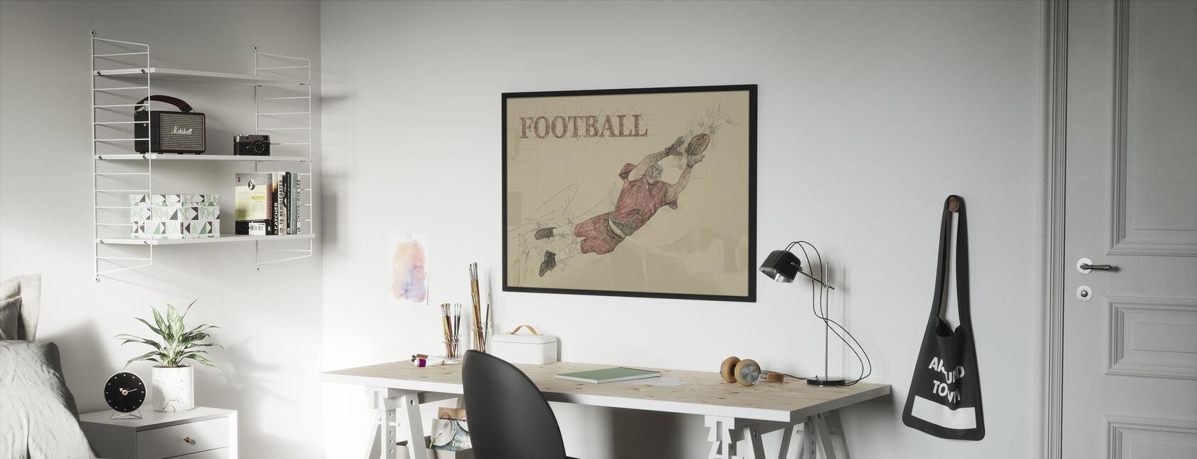 Football - Framed print - Kids Room