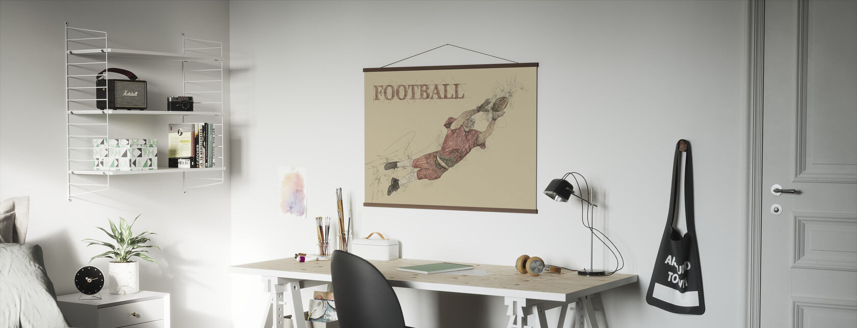 Fotball - Plakat - Kontor
