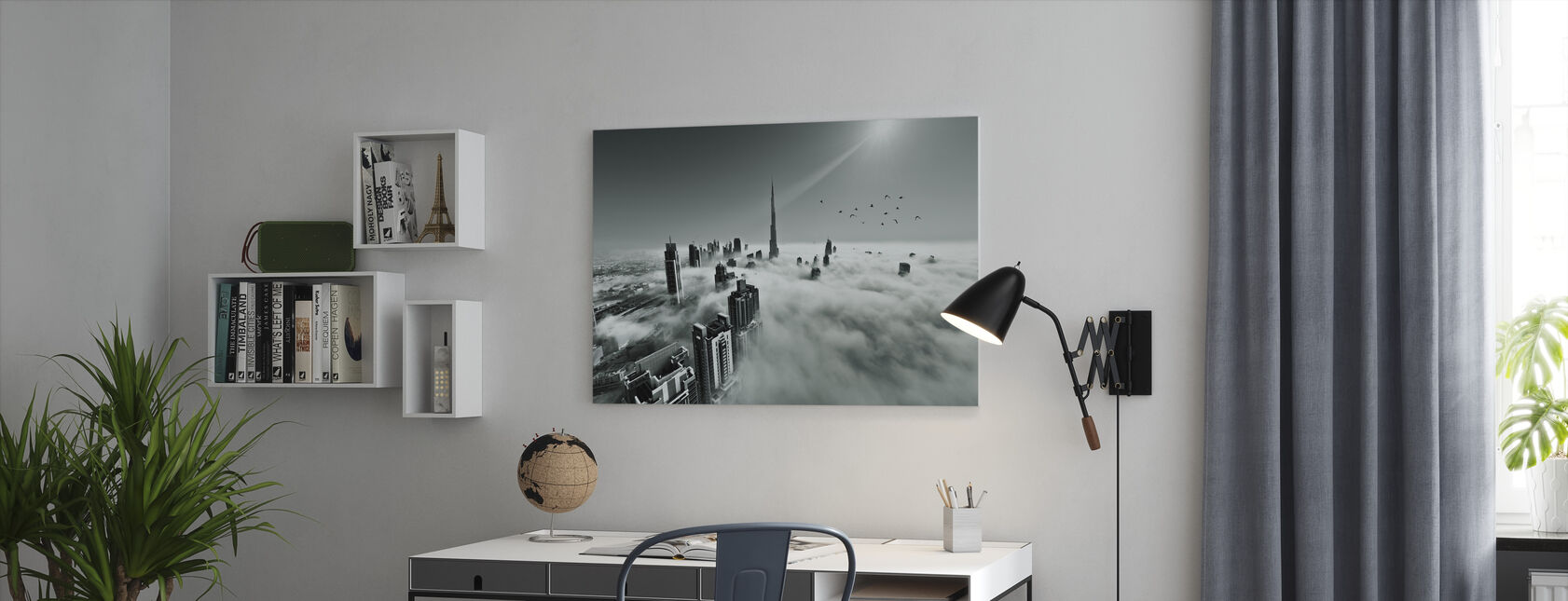 Up up and Above - Canvas print - Office