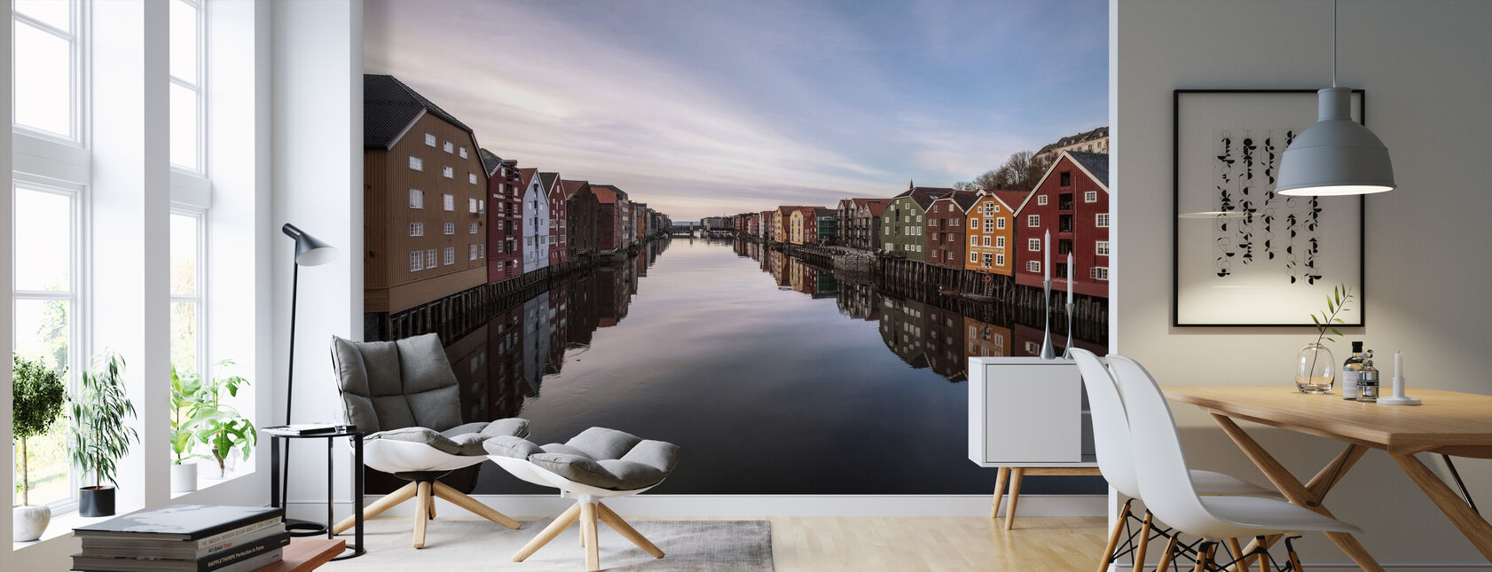 Trondheim, Norge - Tapet - Stue
