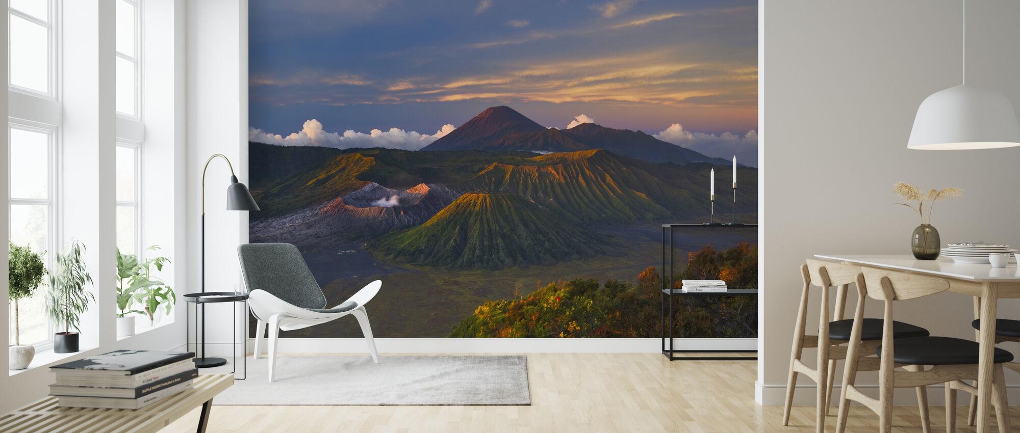 Vulkanen daggry - Tapet - Stue