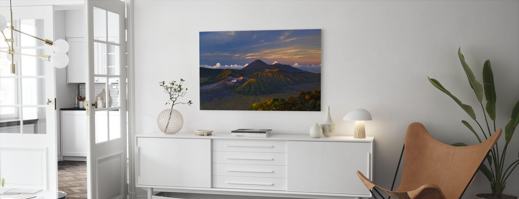 Volcano Dawn - Canvas print - Living Room