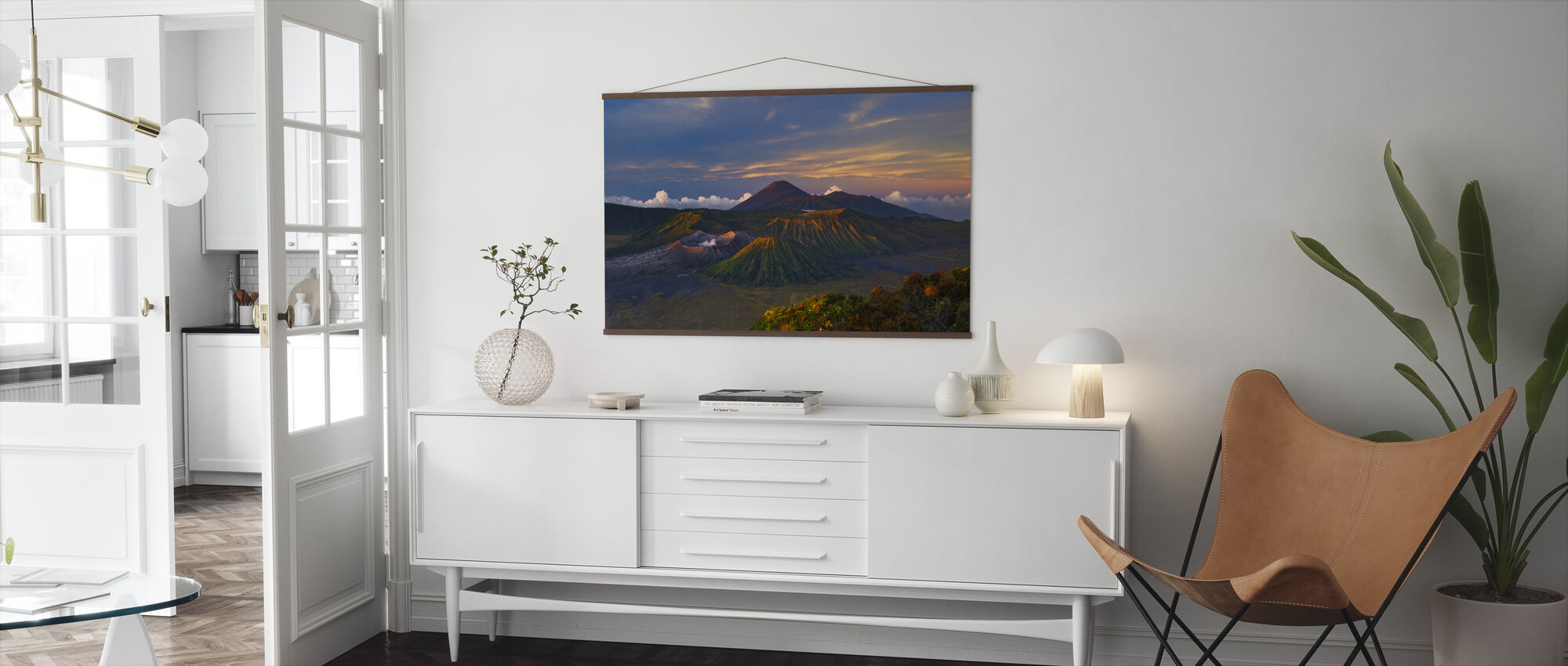 Volcano Dawn - Poster - Living Room