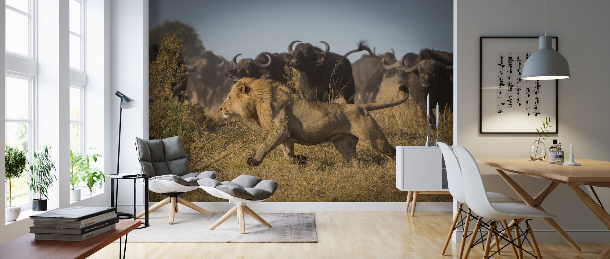 The Hunt - Wallpaper - Living Room