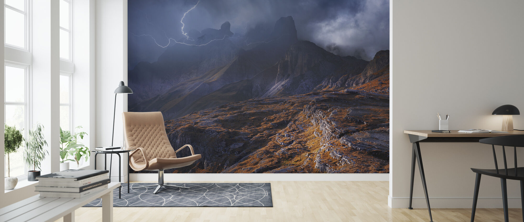 Mountain weather - Wallpaper - Living Room