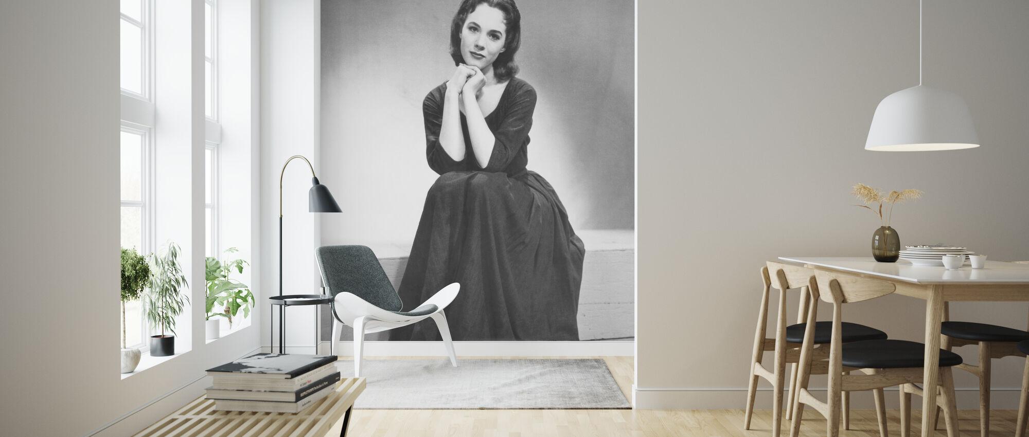 Askungen 1957 - Tapet - Vardagsrum