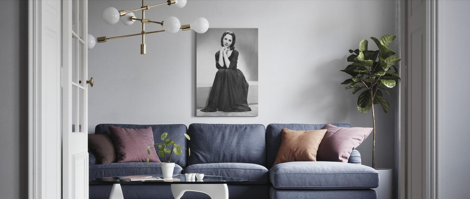 Cinderella 1957 - Canvas print - Living Room