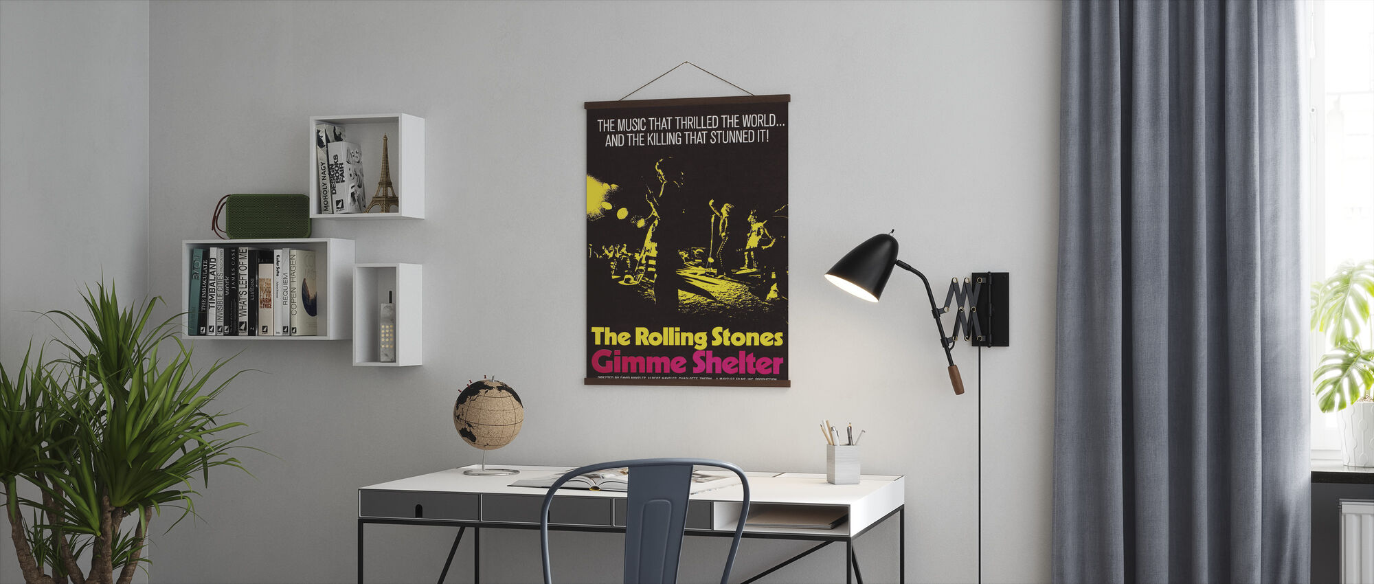 Gimme Shelter Poster Art - Poster - Office