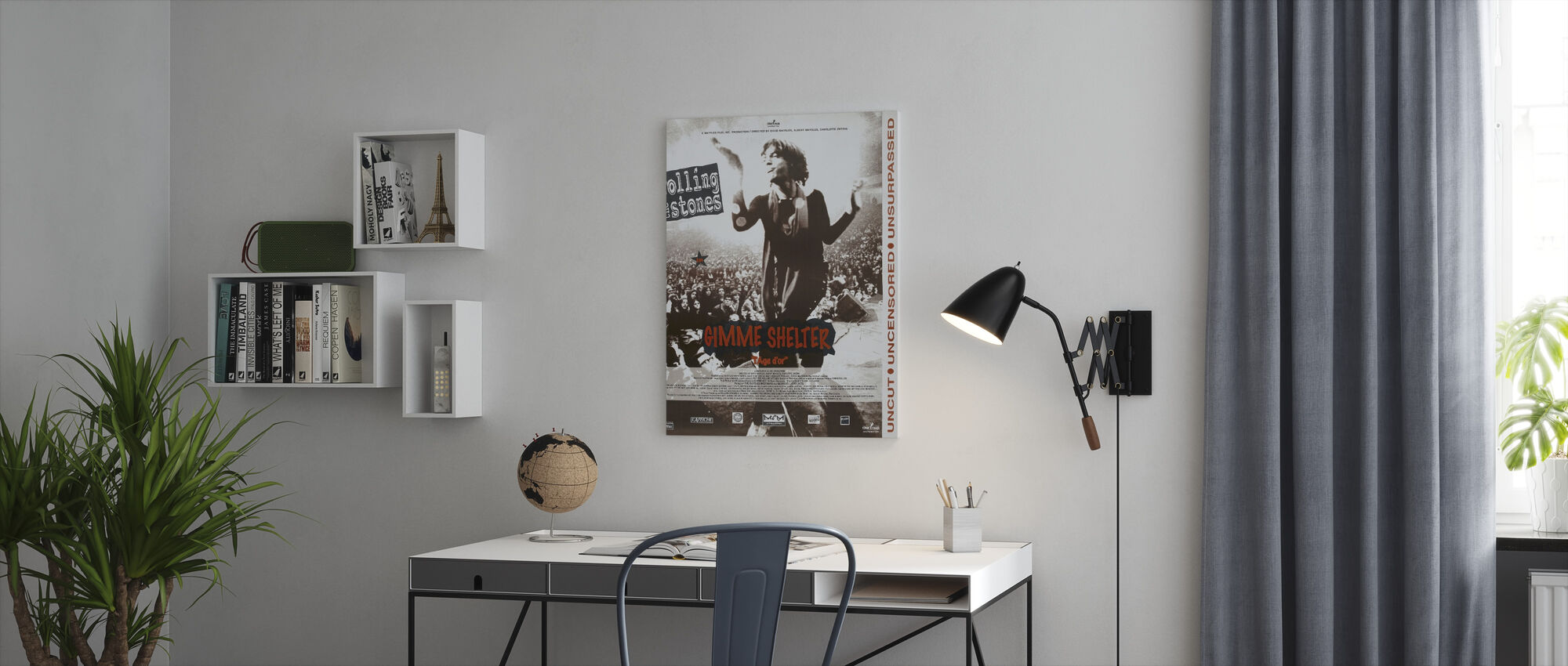 Gimme Shelter - Canvas print - Office