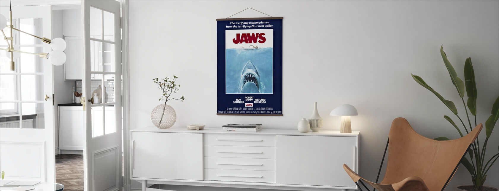 Movie Poster Jaws - Poster - Living Room