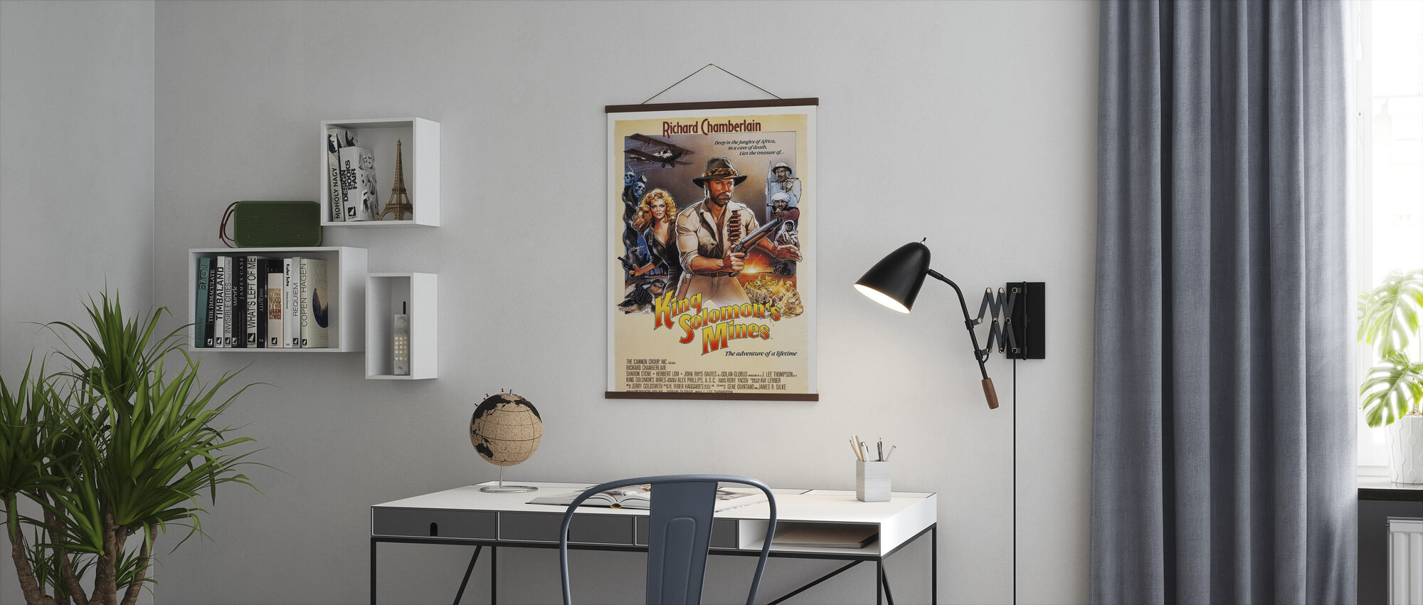 Movie Poster King Solomon´s Mines - Poster - Office
