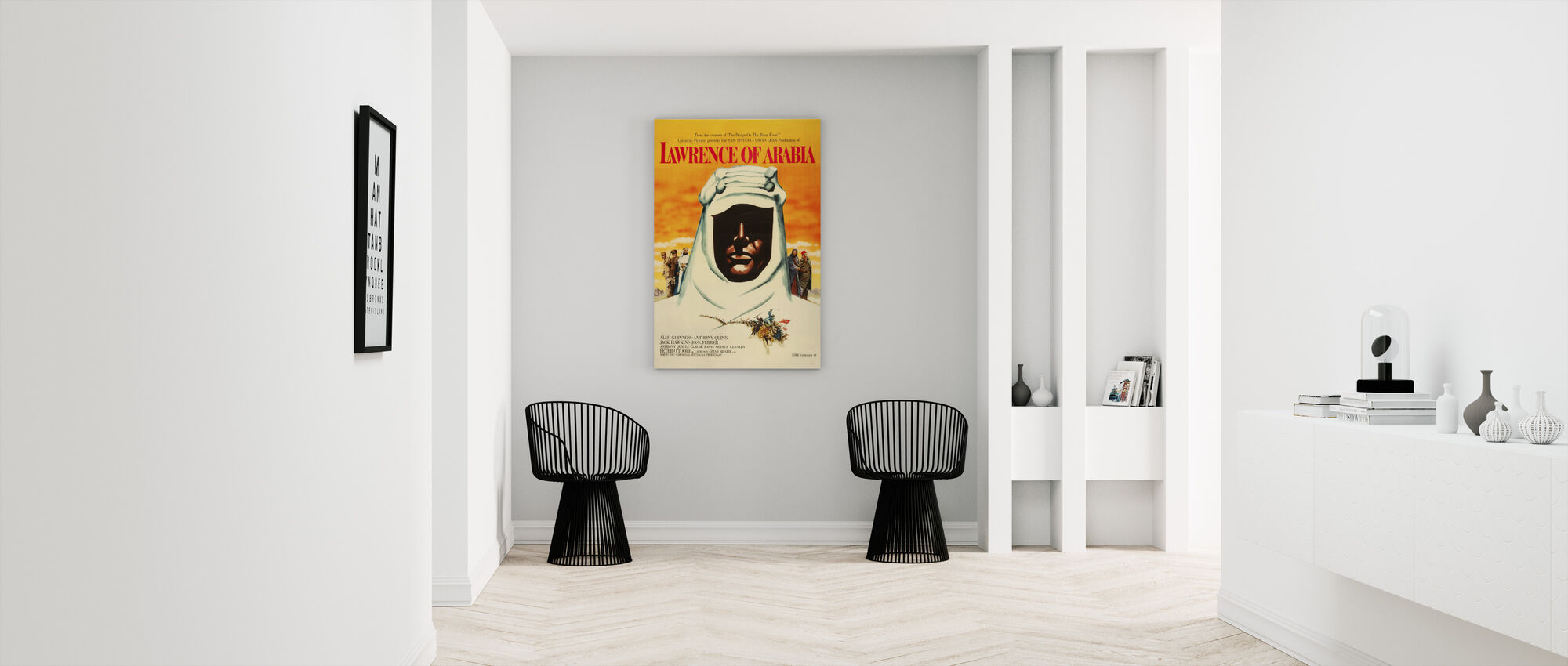 Movie Poster Lawrence of Arabia - Canvas print - Hallway