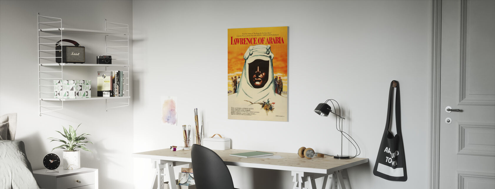 Movie Poster Lawrence of Arabia - Canvas print - Kids Room