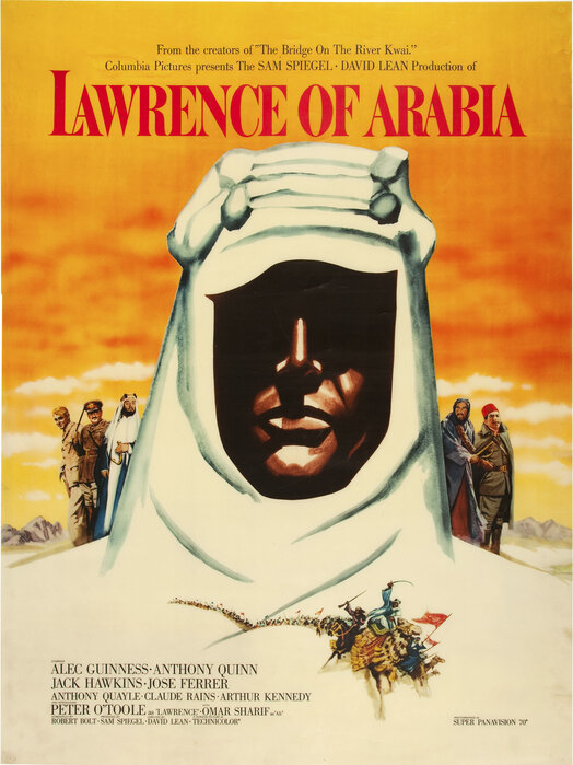 movie poster lawrence of arabia impression sur toile raffin e photowall. Black Bedroom Furniture Sets. Home Design Ideas