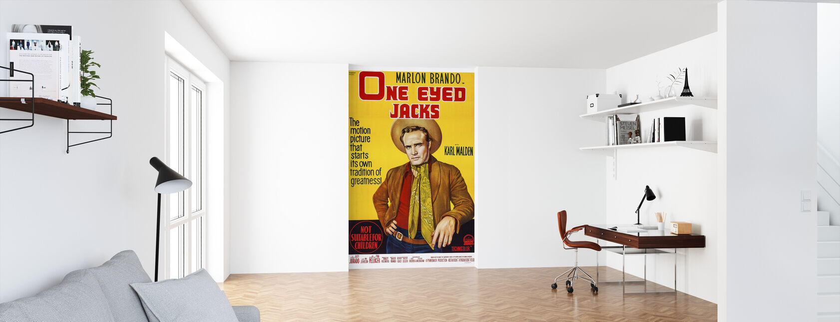 Movie Poster One Eyed Jacks - Wallpaper - Office