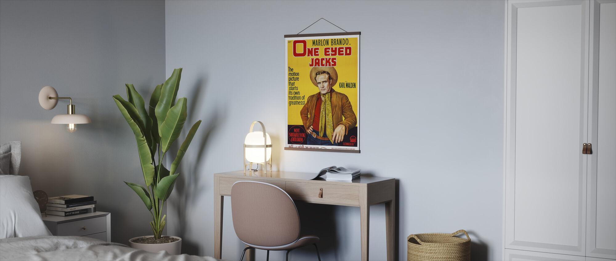 Film Poster een Eyed Jacks - Poster - Kantoor