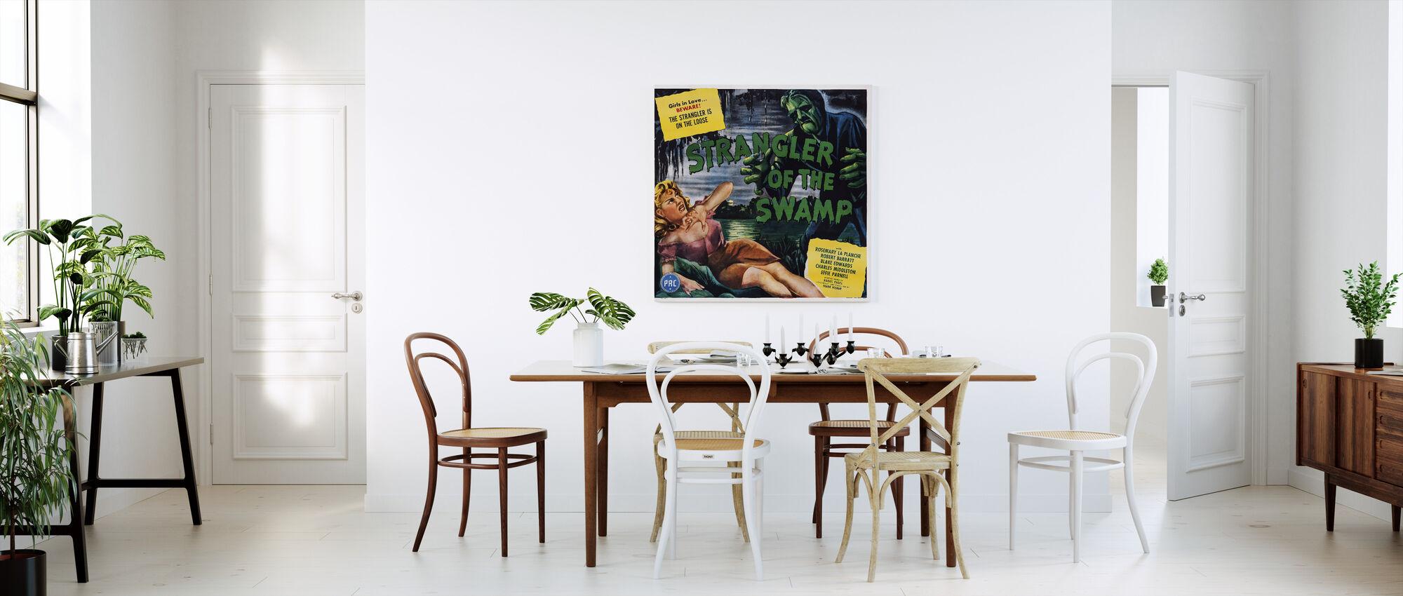 movie poster strangler of the swamp d corer avec une impression sur toile photowall. Black Bedroom Furniture Sets. Home Design Ideas