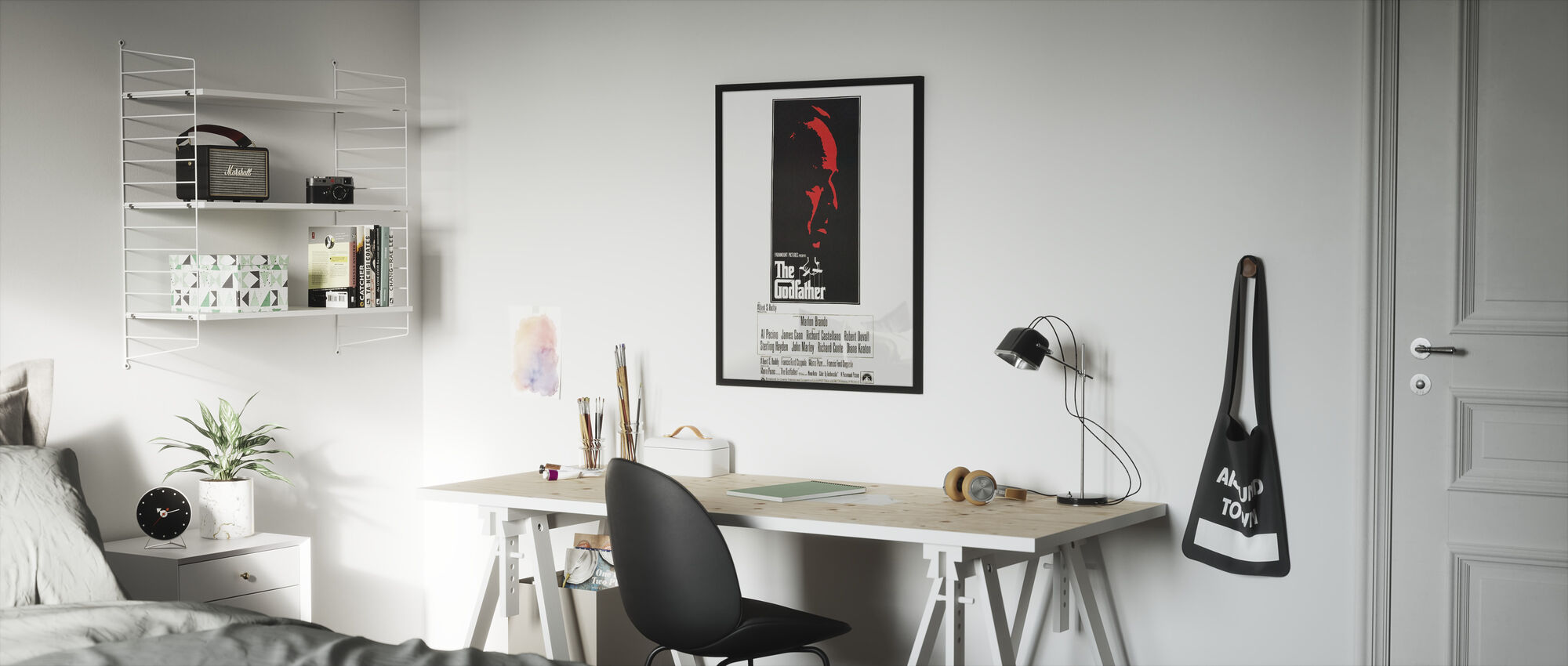 Film affisch Gudfadern - Inramad tavla - Barnrum