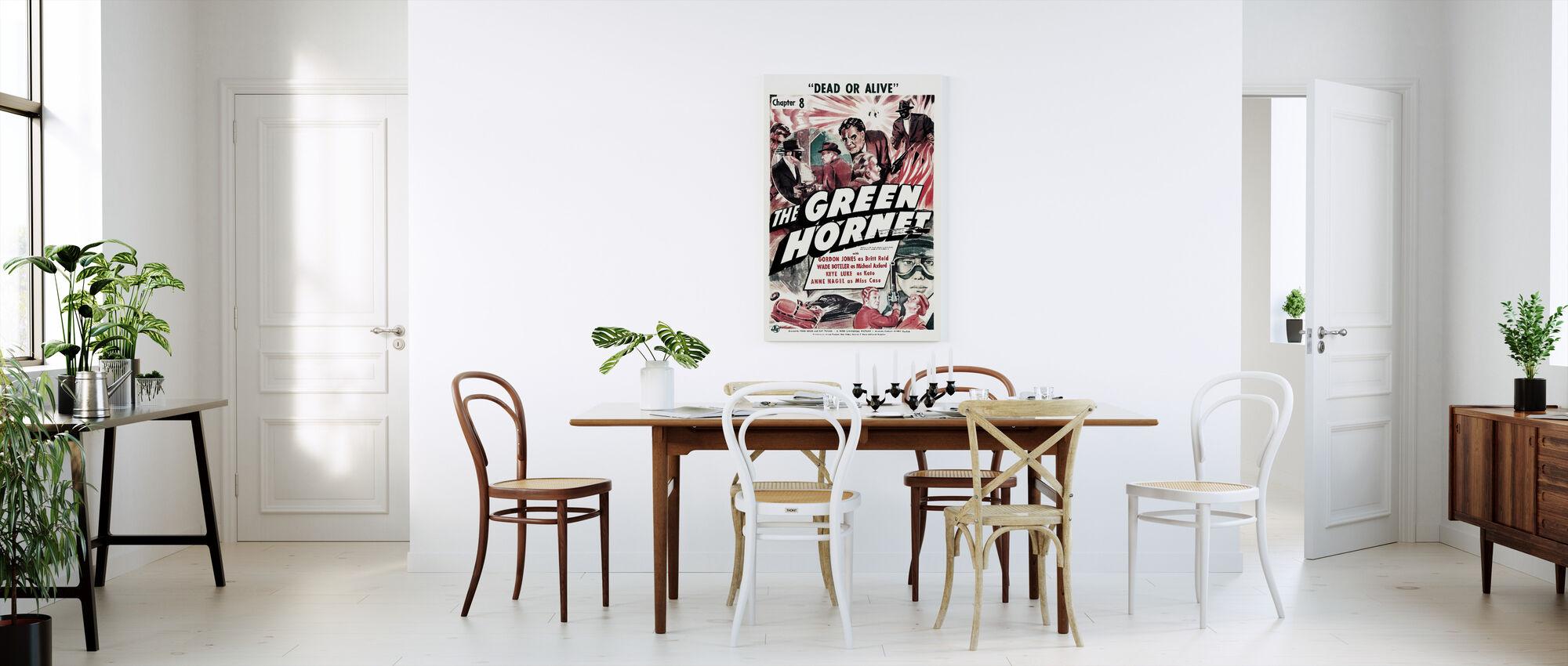 movie poster the green hornet surprendre avec une impression sur toile photowall. Black Bedroom Furniture Sets. Home Design Ideas